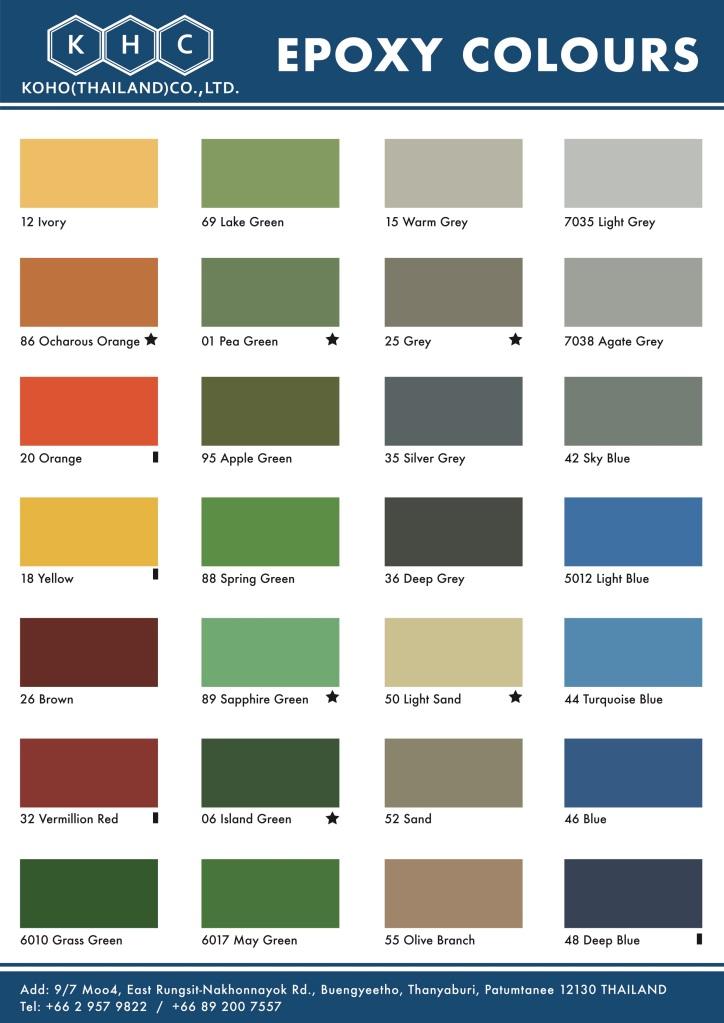 KOHO Standard Color